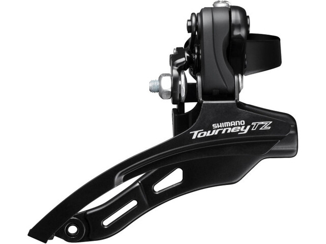 Shimano Tourney TZ FD-TZ500 Voorderailleur 3x6/7-speed Down Swing Klem hoog, black